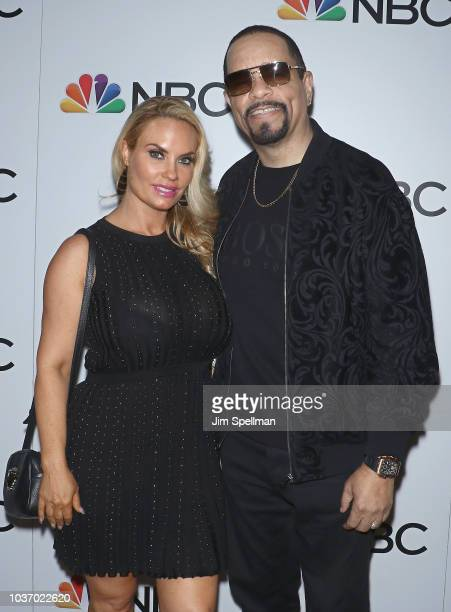Actress Coco Austin and rapper/actor Ice-T attend the party for the casts of NBC's 2018-2019 Season hosted by NBC and The Cinema Society at Four...