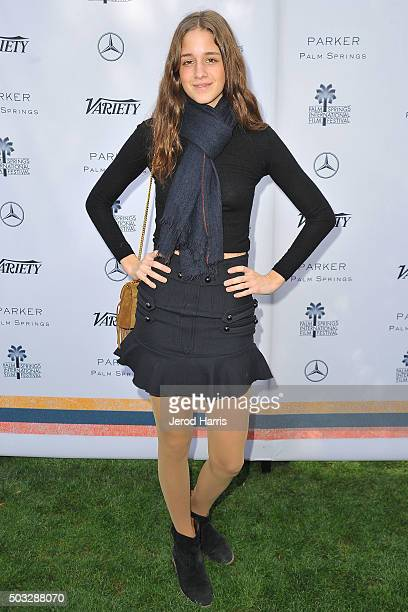 Actress Coco Konig attends Variety's Creative Impact Awards and 10 Directors To Watch Brunch at the Parker Palm Springs on January 3 2016 in Palm...