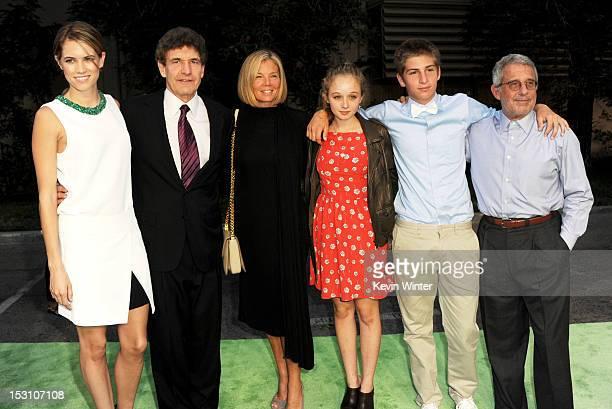 Actress Cody Horn Alan Horn cofounder EMA and Chairman Walt Disney Studios Kelly Chapman Meyer Lifetime Achievement Award receipient her daughter...