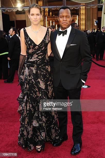 Actress Cody Horn and screenwriter Geoffrey Fletcher arrive at the 83rd Annual Academy Awards held at the Kodak Theatre on February 27 2011 in...