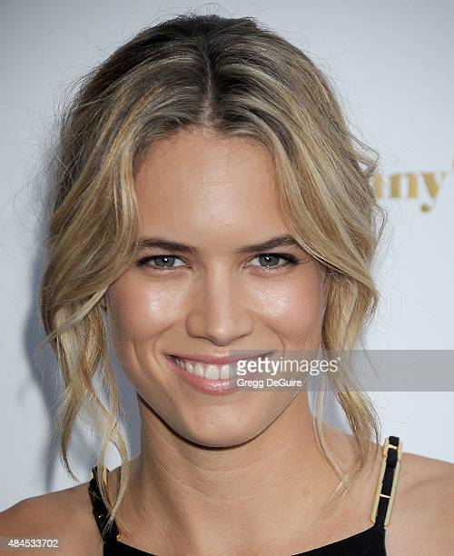 Actress Cody Horn arrives at the premiere of Lionsgate's She's Funny That Way at Harmony Gold on August 19 2015 in Los Angeles California