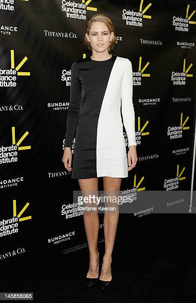 Actress Cody Horn arrives at the Sundance Institute Benefit presented by Tiffany Co in Los Angeles held at Soho House on June 6 2012 in West...