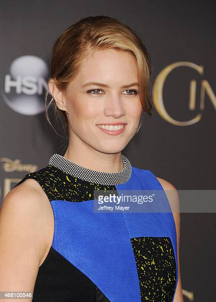 Actress Cody Horn arrives at the World Premiere of Disney's 'Cinderella' at the El Capitan Theatre on March 1, 2015 in Hollywood, California.