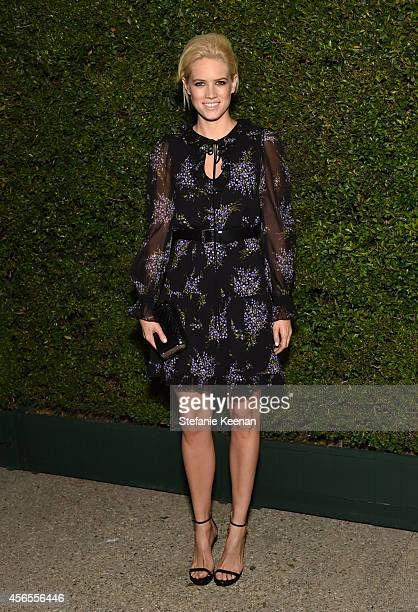 Actress Cody Horn attends Claiborne Swanson Frank's Young Hollywood book launch hosted by Michael Kors at Private Residence on October 2 2014 in...
