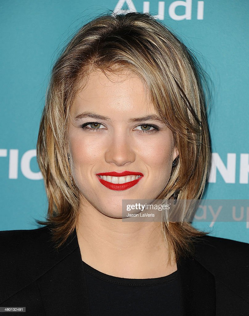 Actress Cody Horn attends the Backstage at the Geffen annual fundraiser at Geffen Playhouse on March 22, 2014 in Los Angeles, California.