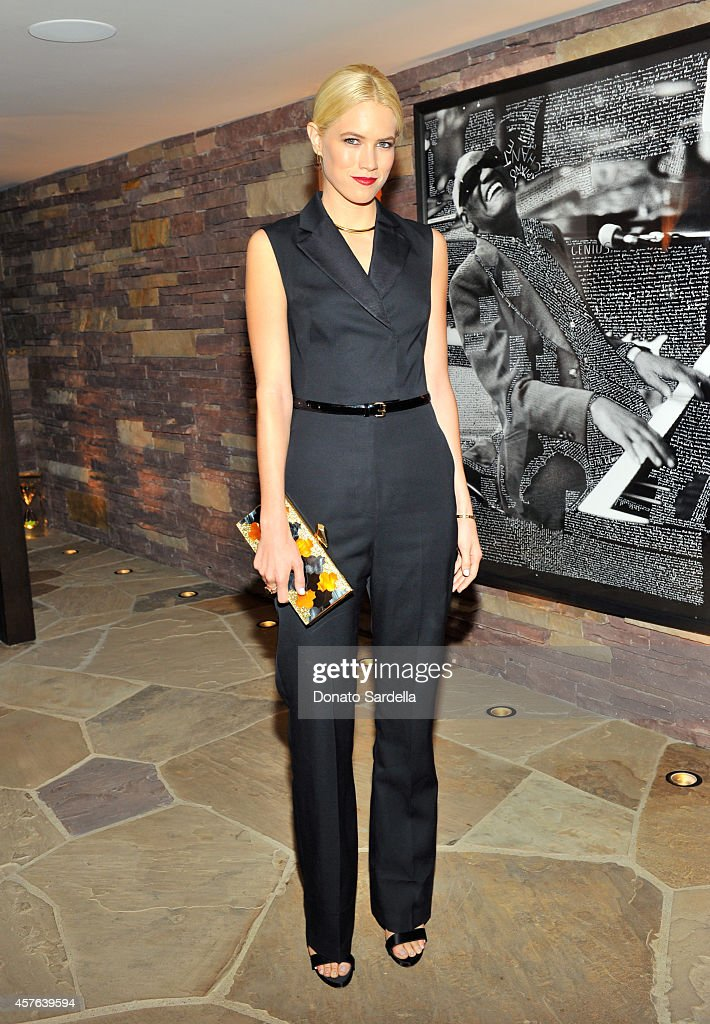 Actress Cody Horn attends the CFDA/Vogue Fashion Fund evening dinner on October 21, 2014 in Los Angeles, California.
