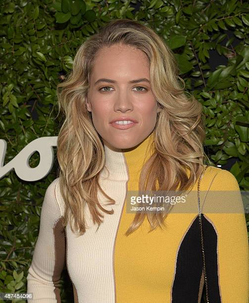 Actress Cody Horn attends the Salvatore Ferragamo Celebration of 100 Years in Hollywood with the newly unveiled Rodeo Drive flagship at Salvatore...
