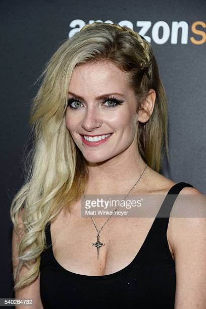 Actress Cody Renee Cameron attends the premiere of Amazon's The Neon Demon at ArcLight Cinemas Cinerama Dome on June 14 2016 in Hollywood California