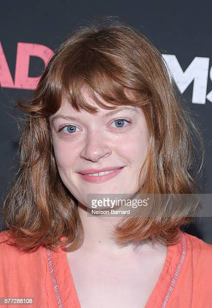 Actress Colby Minifie attends the Bad Moms premiere at Metrograph on July 18 2016 in New York City