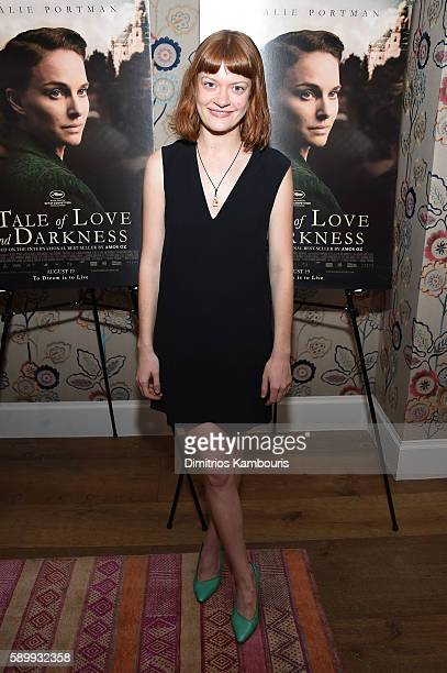 Actress Colby Minifie attends the premiere for A Tale Of Love Darkness at Crosby Street Hotel on August 15 2016 in New York City