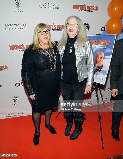 Actress Colleen Camp and director Penelope Spheeris attend the 'Wayne's World' 25th Anniversary Panel Discussion at Pacific Theaters at the Grove on...