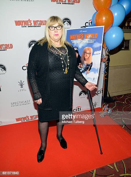 Actress Colleen Camp attends the 'Wayne's World' 25th Anniversary Panel Discussion at Pacific Theaters at the Grove on January 9 2017 in Los Angeles...