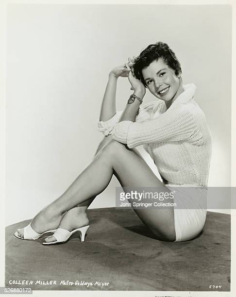 Actress Colleen Miller Seated