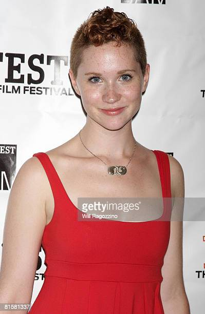 Actress Colleen Skemp attends the 20th Annual Newfest Were The World Mine Premiere on June 15 2008 at AMC Loews 34th Street Theater in New York City