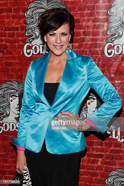 Actress Colleen Zenk attends the opening night of Broadway's Godspell at the Circle in the Square Theatre on November 7 2011 in New York City