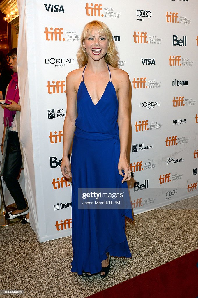 Actress Collette Wolfe attends 'The Devil's Knot' premiere during the 2013 Toronto International Film Festival at The Elgin on September 8, 2013 in Toronto, Canada.