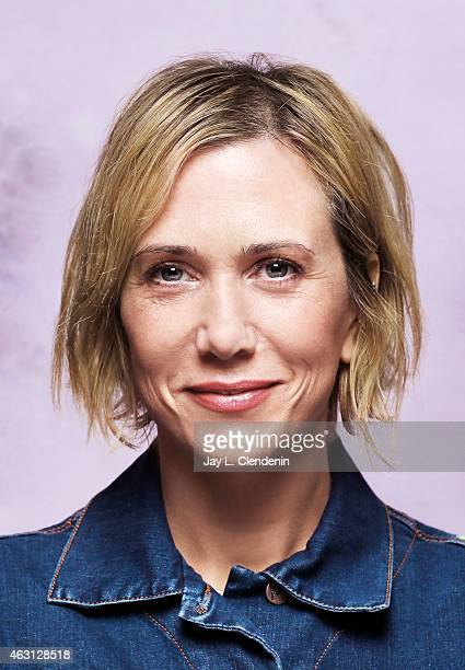 Actress comedian and writer Kristen Wiig is photographed for Los Angeles Times on January 24 2015 in Park City Utah PUBLISHED IMAGE CREDIT MUST READ...