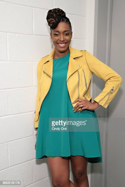 """Actress/ comedian Franchesca Ramsey attends the """"Dirty Computer"""" screening at The Film Society of Lincoln Center, Walter Reade Theatre on April 23,..."""