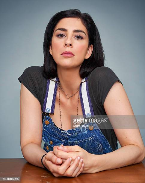 Actress comedian Sarah Silverman is photographed for Back Stage on August 25 in New York City