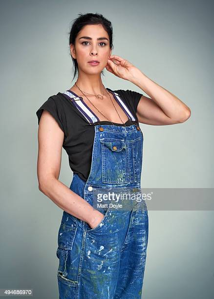 Actress comedian Sarah Silverman is photographed for Back Stage on August 25 in New York City PUBLISHED IMAGE