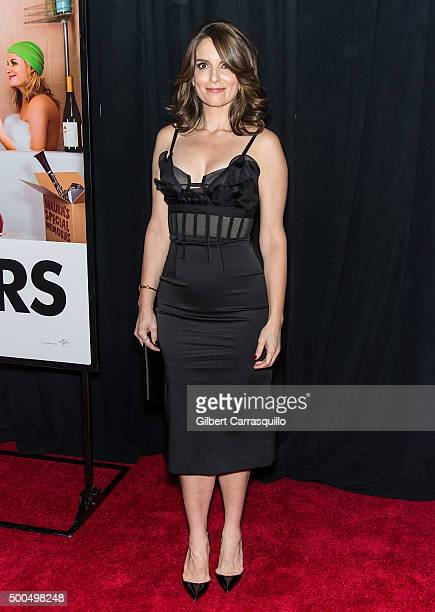 Actress/ comedian/writer/producer Tina Fey attends the 'Sisters' New York premiere at Ziegfeld Theater on December 8 2015 in New York City