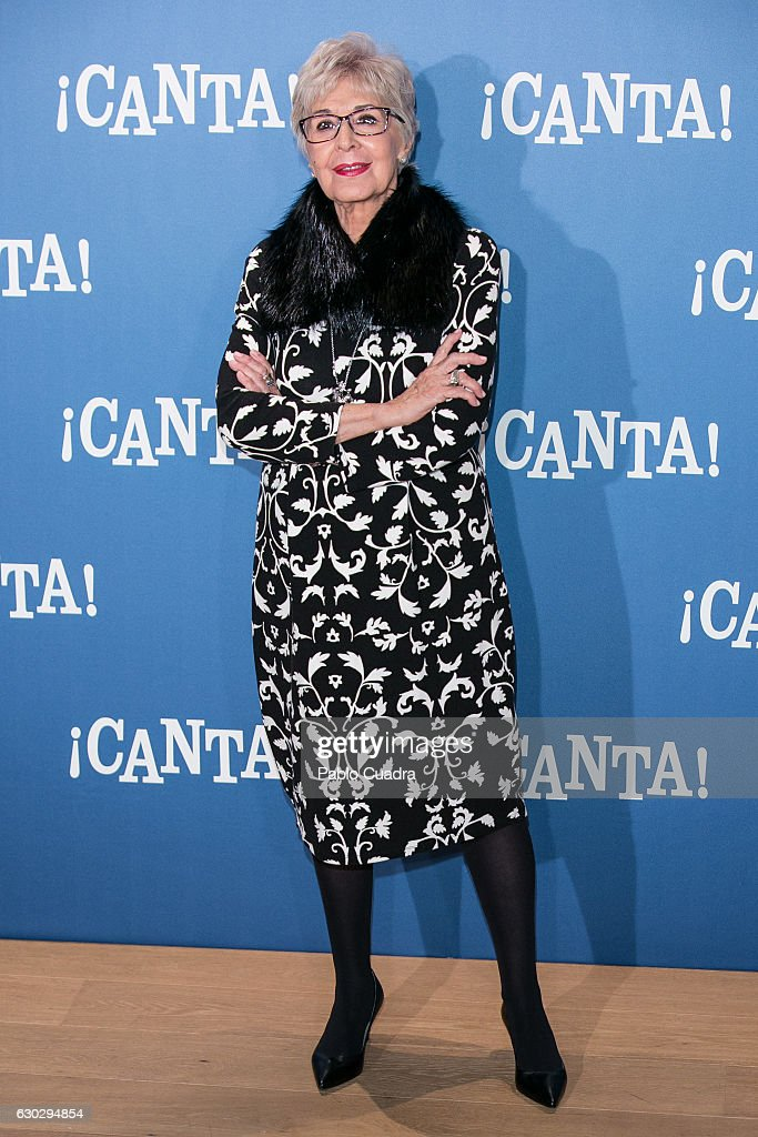 'Canta' Photocall Madrid