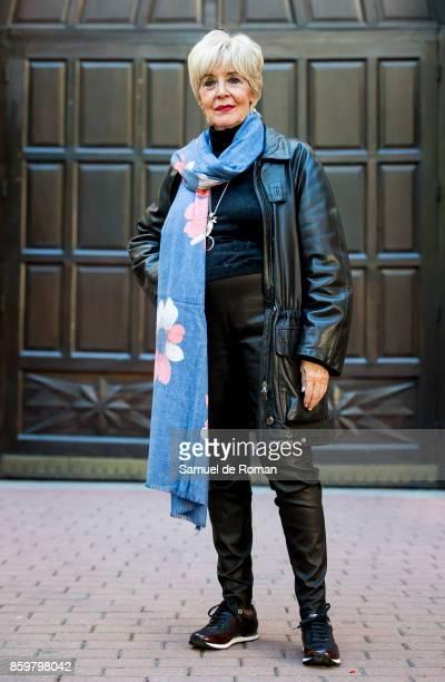 Actress Concha Velasco Presents 'Reina Juana' in Madrid on October 10 2017 in Madrid Spain