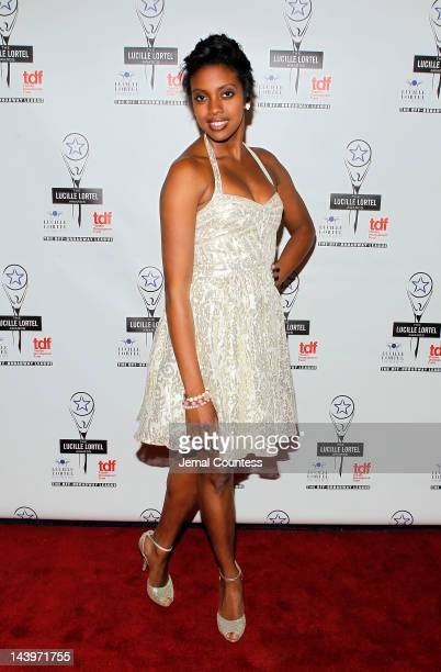 Actress Condola Rashad attends the 27th Annual Lucille Lortel Awards at NYU Skirball Center on May 6 2012 in New York City