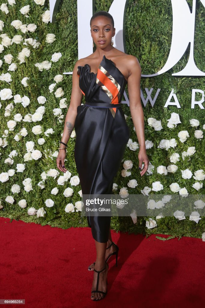 Actress Condola Rashad attends the 71st Annual Tony Awards at Radio City Music Hall on June 11, 2017 in New York City.