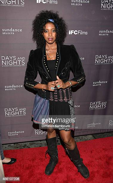 Actress Condola Rashad attends the premiere of 'Days And Nights' at the IFC Center on September 25 2014 in New York City