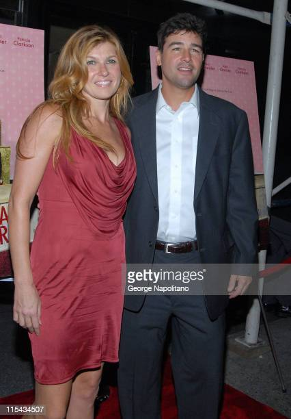 Actress Connie Britton and Actor Kyle Chandler at the NY Premiere Of 'Lars And The Real Girl' at the Paris Theatre in New York October 3 2007