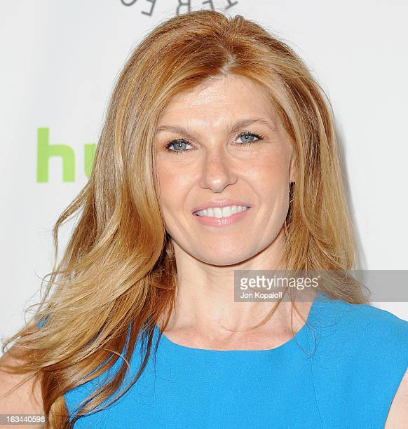 Actress Connie Britton arrives at 'Nashville' part of the 30th Annal William S Paley Television Festival at Saban Theatre on March 9 2013 in Beverly...