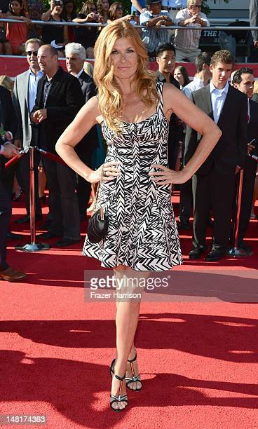 Actress Connie Britton arrives at the 2012 ESPY Awards at Nokia Theatre LA Live on July 11 2012 in Los Angeles California