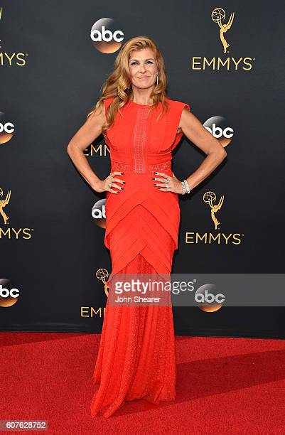 Actress Connie Britton arrives at the 68th Annual Primetime Emmy Awards at Microsoft Theater on September 18 2016 in Los Angeles California
