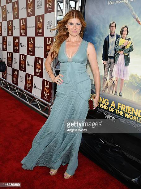 Actress Connie Britton arrives at the premiere of 'Seeking a Friend for the End of the World' at the 2012 Los Angeles Film Festival held at Regal...