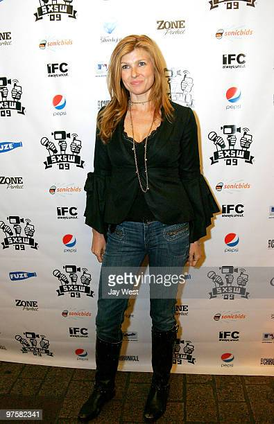 Actress Connie Britton arrives at the premiere of 'Women In Trouble' on day 3 of the 2009 SXSW Film Conference and Festival on March 15 2009 in...