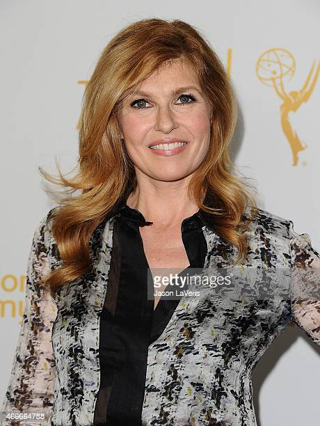 Actress Connie Britton attends an evening with the women of American Horror Story at The Montalban on March 17 2015 in Hollywood California