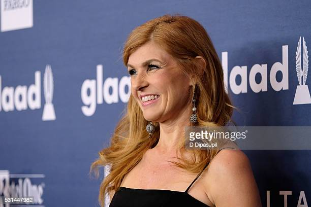 Actress Connie Britton attends at The 27th Annual GLAAD Media Awards with Hilton at Waldorf Astoria Hotel on May 14 2016 in New York City