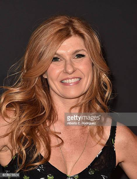 Actress Connie Britton attends Prada Presents 'Past Forward' by David O Russell premiere at Hauser Wirth Schimmel on November 15 2016 in Los Angeles...