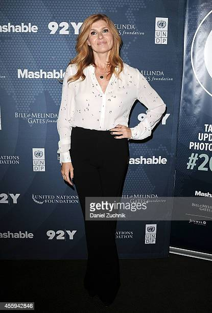 Actress Connie Britton attends the 2014 Social Good Summit at 92Y on September 22 2014 in New York City