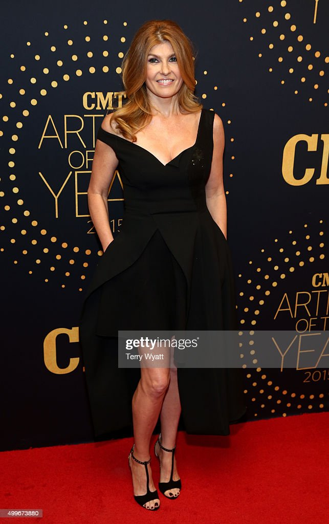 Actress Connie Britton attends the 2015 'CMT Artists of the Year' at Schermerhorn Symphony Center on December 2, 2015 in Nashville, Tennessee.