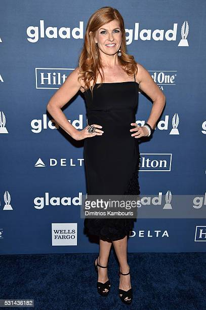 Actress Connie Britton attends the 27th Annual GLAAD Media Awards in New York on May 14 2016 in New York City