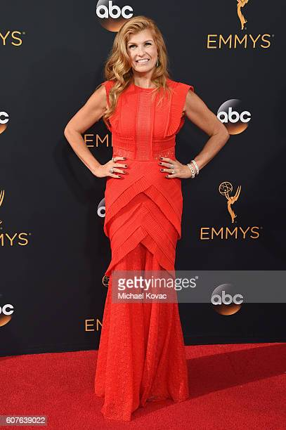Actress Connie Britton attends the 68th Annual Primetime Emmy Awards at Microsoft Theater on September 18 2016 in Los Angeles California