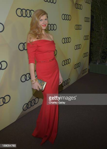 Actress Connie Britton attends the Audi Golden Globes Kick Off 2013 at Cecconi's Restaurant on January 6 2013 in Los Angeles California
