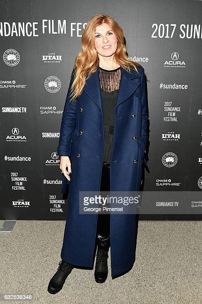 Actress Connie Britton attends the Beatriz At Dinner Premiere at Eccles Center Theatre on January 23 2017 in Park City Utah