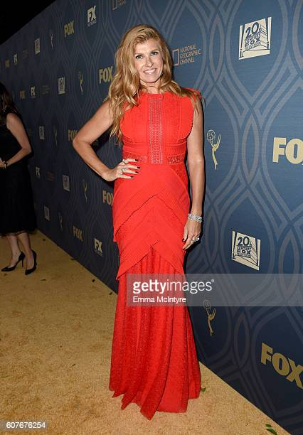 Actress Connie Britton attends the FOX Broadcasting Company FX National Geographic And Twentieth Century Fox Television's 68th Primetime Emmy Awards...