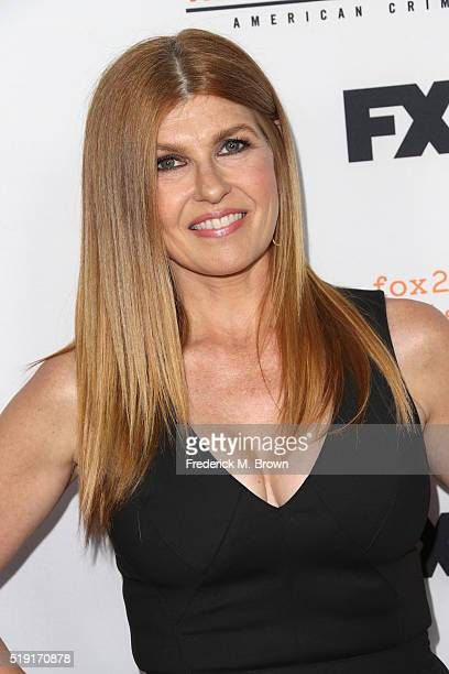 Actress Connie Britton attends the FX's For Your Consideration Event for 'The People v OJ Simpson American Crime Story' at The Theatre at Ace Hotel...