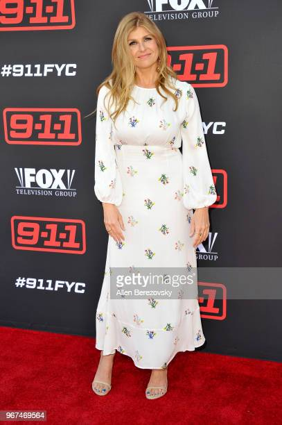 Actress Connie Britton attends the FYC Event for Fox's 911 at Saban Media Center on June 4 2018 in North Hollywood California