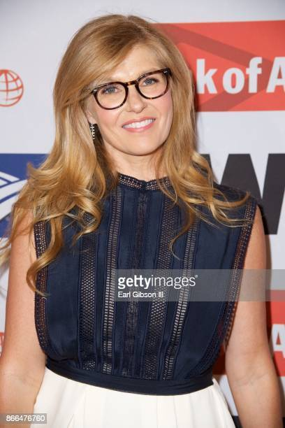 Actress Connie Britton attends the International Women's Media Foundation 2017 Courage In Journalism Awards at NeueHouse Hollywood on October 25 2017...