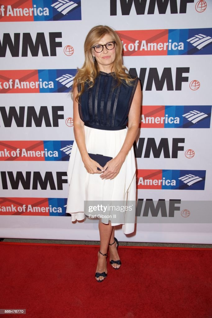Actress Connie Britton attends the International Women's Media Foundation 2017 Courage In Journalism Awards at NeueHouse Hollywood on October 25, 2017 in Los Angeles, California.